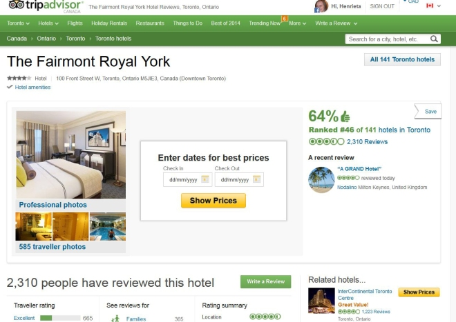 Royal York Trip Advisor